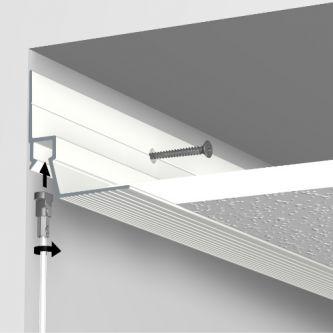 Artiteq Ceiling Strip wit primer 300 cm