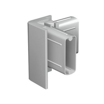 Click Rail Hoekverbinder grijs