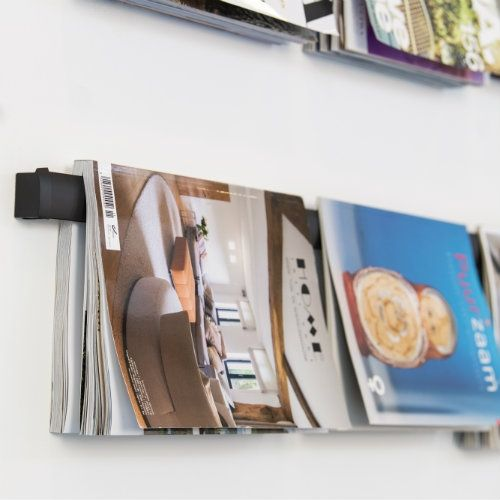 Magazine Rail voor presenteren magazines en tijdschriften