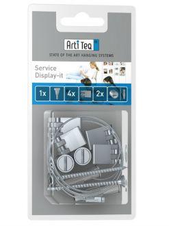 Artiteq blister service set Display it