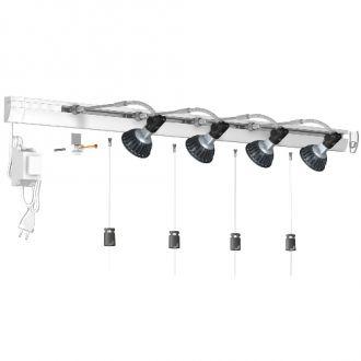 Combi Rail Pro Light LED set 800cm