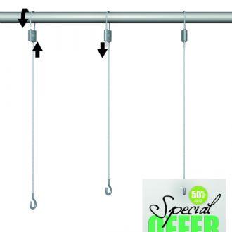 Loop Hanger plus Haak 200 cm 10 kg