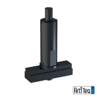 Ophangklem Xpo Rail 1,2 mm zwart